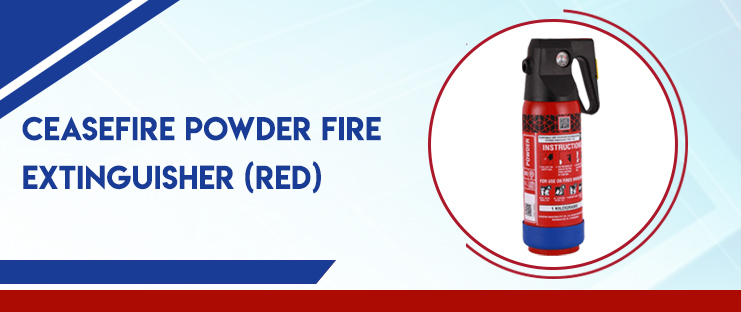 Ceasefire Powder Fire Extinguisher