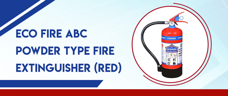 Eco Fire ABC Powder Type Fire Extinguisher