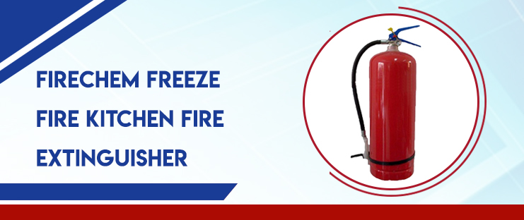 FireChem Freeze Fire Kitchen Fire Extinguisher