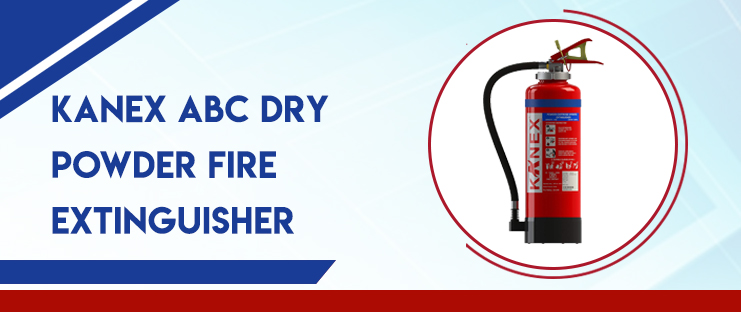 KANEX ABC Dry Powder Fire Extinguisher