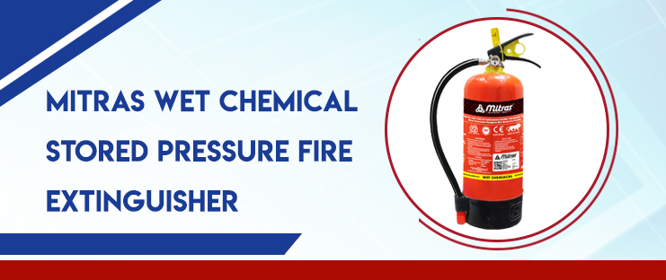 Mitras Wet Chemical Stored Pressure Fire Extinguisher