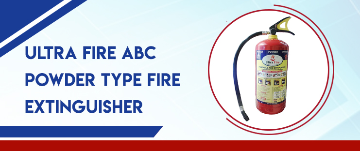 Ultra Fire ABC Powder Type Fire Extinguisher