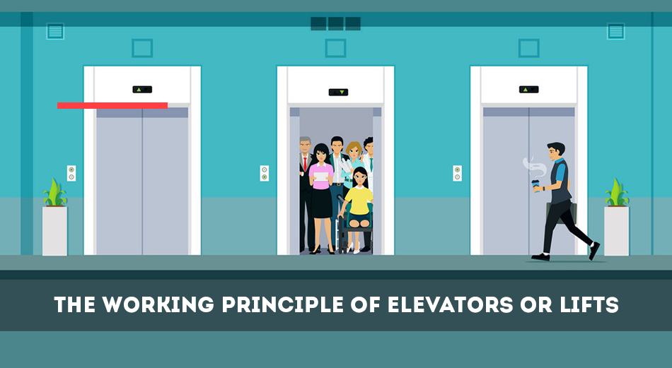 The Working Principle of Elevators or Lifts